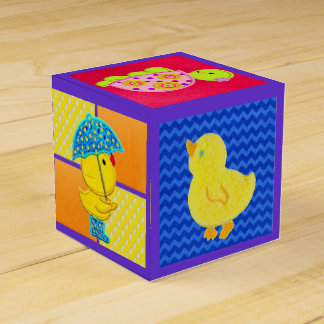 Cute Ducky Baby Gift Box Wedding Favour Boxes