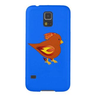 Cute fire bird galaxy s5 cases
