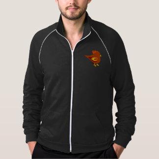 Cute fire bird printed jacket