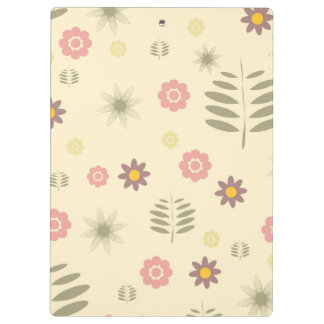 Cute Flora and Fauna Inspired Clipboard