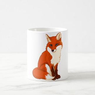 Cute Fox Sitting Mug