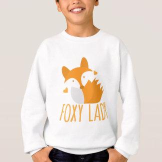 Cute foxy lady sweatshirt