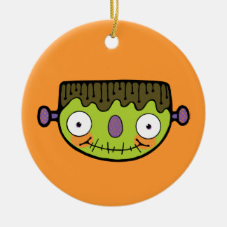 Cute Frankenstein Christmas Ornament