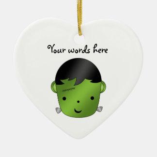 Cute Frankenstein monster Christmas Ornament