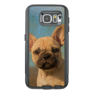 Cute French Bulldog Puppy Vintage  on Commutercase