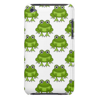 Cute Frog Pattern iPod Case-Mate Case