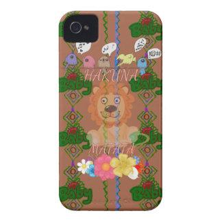 Cute funny Baby Lion King Hakuna Matata latest edg iPhone 4 Cases