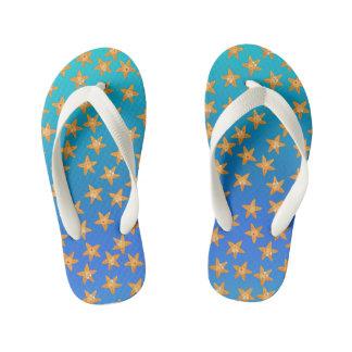 Cute funny cartoon sea star pattern thongs