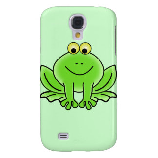Cute Funny Frog Galaxy S4 Case