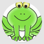 Cute Funny Frog Sticker