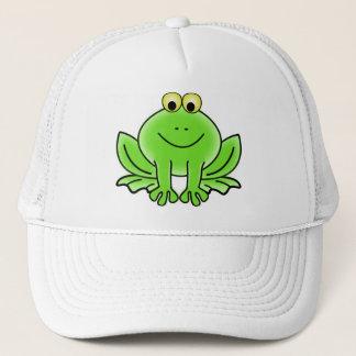 Cute Funny Frog Trucker Hat