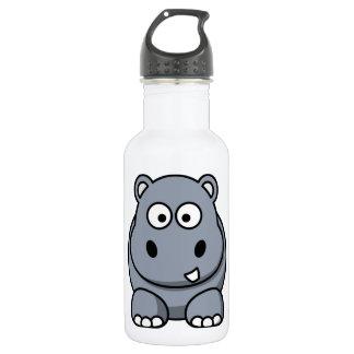 Cute Funny Hippo 532 Ml Water Bottle