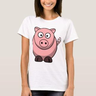 Cute Funny Pig T-Shirt