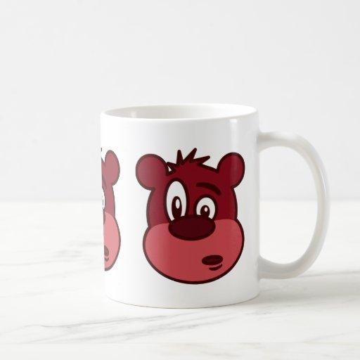 Cute Funny Winking Bear Coffee Mug