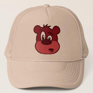 Cute Funny Winking Bear Trucker Hat