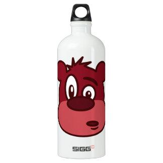 Cute Funny Winking Bear Water Bottle