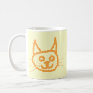 Cute Ginger Cat. Basic White Mug