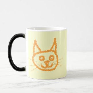 Cute Ginger Cat. Morphing Mug
