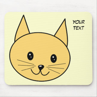 Cute Ginger Cat. Mouse Pad