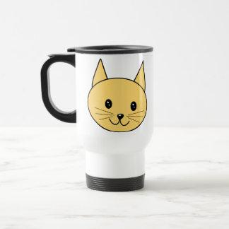 Cute Ginger Cat. Stainless Steel Travel Mug
