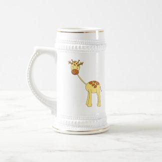 Cute Giraffe. Cartoon. Mug