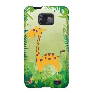 Cute Giraffe Samsung Galaxy SII Cover