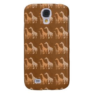 Cute Giraffe Trio Pern~ Unique Wildlife Design Galaxy S4 Case