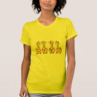 Cute Giraffe, Wild Animal Tee Shirts