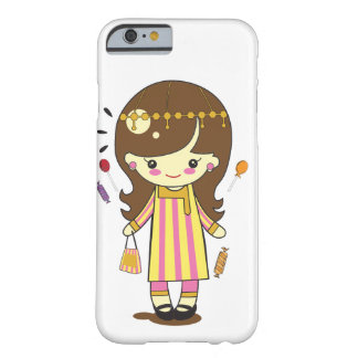 Cute Girl in Traditonal Costume Barely There iPhone 6 Case