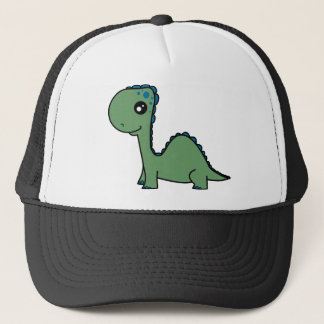 Cute Green Baby Dinosaur Trucker Hat