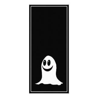 Cute Halloween Cartoon Ghost Custom Rack Cards