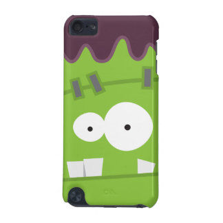 Cute Halloween Frankenstein Monster Face iPod Touch (5th Generation) Cases