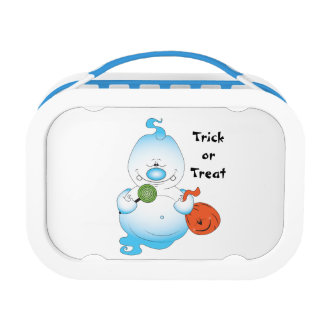 Cute Halloween Ghost Cartoon Lunch Box