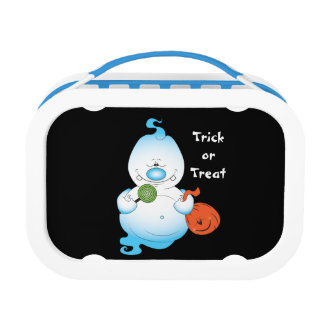 Cute Halloween Ghost Cartoon Lunch Boxes