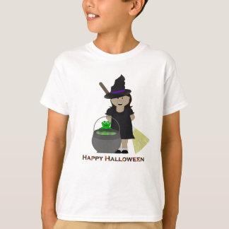 Cute Halloween Girl T-Shirt