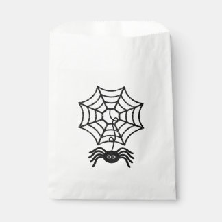 Cute Halloween Spider Favor Bags Favour Bags