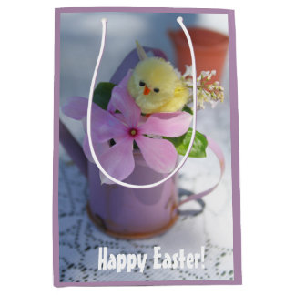 Cute Happy Easter Chicken Gift Bag