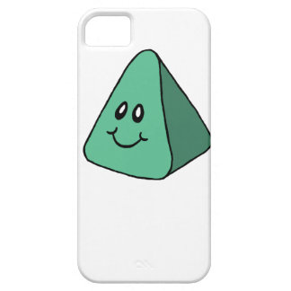 Cute Happy Green Triangle iPhone 5 Cases