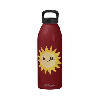 Cute Happy Sun Drinking Bottles