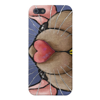 Cute Heart Rat iphone case iPhone 5/5S Case