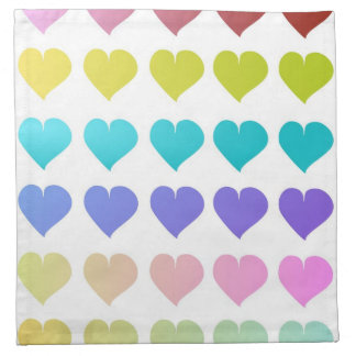 Cute hearts patterned Napkins