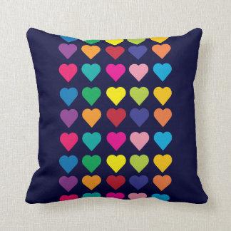 Cute Hearts throw pillow Cushions