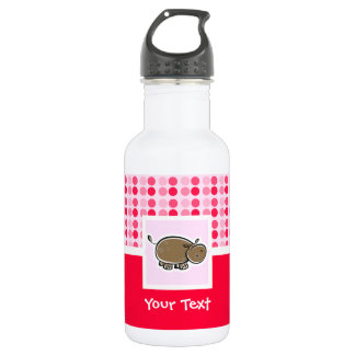 Cute Hippo 532 Ml Water Bottle