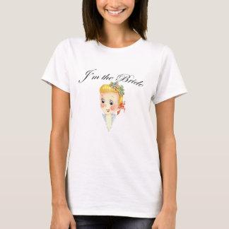 Cute I'm the Bride Hen Party Bridal Shower T-Shirt