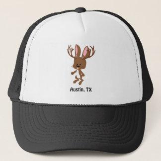 Cute Jackalope - Austin, Texas Trucker Hat