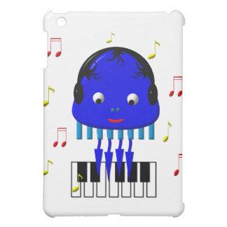 Cute Jellyfish Jamming iPad Mini Case