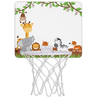 Cute Jungle Baby Animals Mini Basketball Goal Mini Basketball Hoop