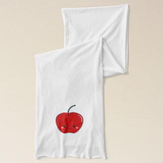 Cute Kawaii Apple for Teacher Scarf