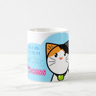 "Cute Kawaii Cat Mug ""Ozzi Kitty Princess"""