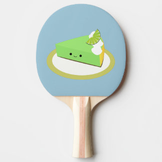 Cute Key Lime Pie Ping Pong Paddle
